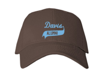 Davis Junior High School Baseball Caps