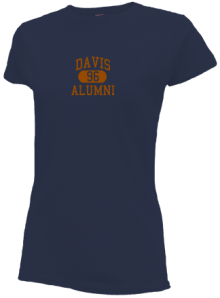 Davis Junior High School Slimfit T-Shirts