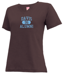 Davis Junior High School V-neck Shirts