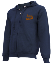 Davis Junior High School Zip-up Hoodies