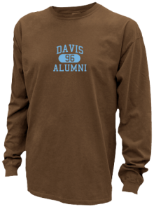 Davis Junior High School Pigment Dyed Shirts