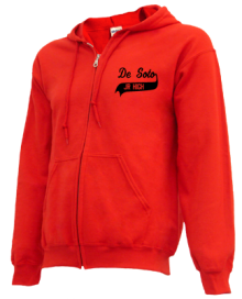 De Soto Middle School  Zip-up Hoodies