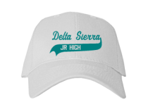 Delta Sierra Middle School  Baseball Caps