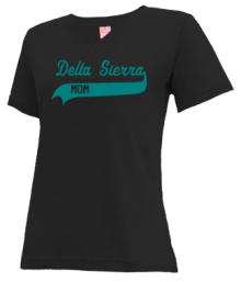 Delta Sierra Middle School  V-neck Shirts