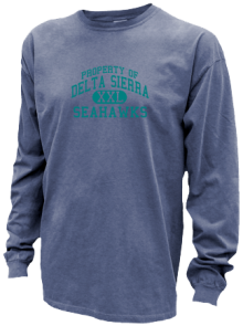 Delta Sierra Middle School  Pigment Dyed Shirts