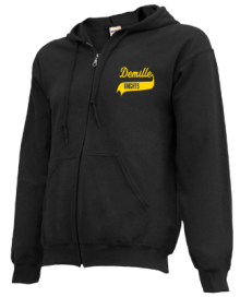 Demille Middle School  Zip-up Hoodies