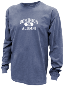 Dominion Middle School  Pigment Dyed Shirts