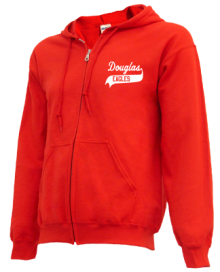 Douglas Middle School  Zip-up Hoodies