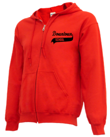 Downtown School  Zip-up Hoodies