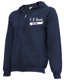 E B Barth Elementary School  Zip-up Hoodies