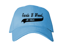 Earle B Wood Middle School  Baseball Caps