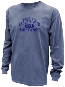 Earle B Wood Middle School  Pigment Dyed Shirts
