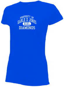 Earle D Jones Elementary School  Slimfit T-Shirts