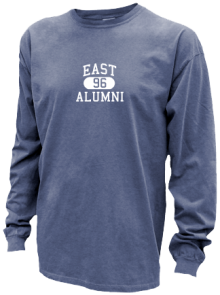East Junior High School Pigment Dyed Shirts