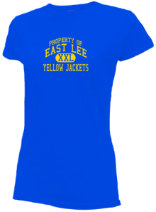 East Lee Middle School  Slimfit T-Shirts