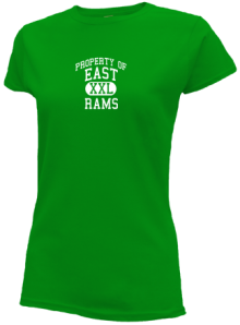 East Middle School  Slimfit T-Shirts
