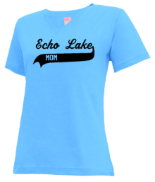 Echo Lake Elementary School  V-neck Shirts