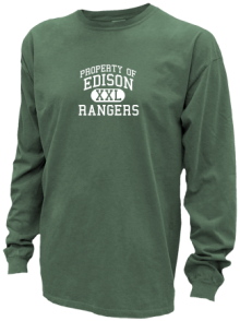 Edison Middle School  Pigment Dyed Shirts