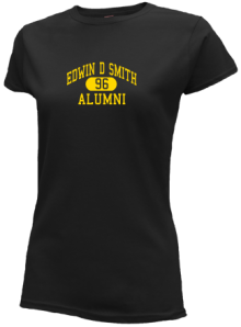 Edwin D Smith Elementary School  Slimfit T-Shirts