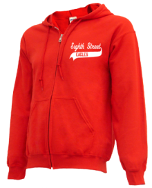 Eighth Street Elementary School  Zip-up Hoodies