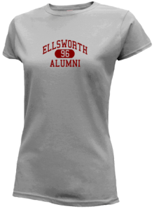 Ellsworth Middle School  Slimfit T-Shirts