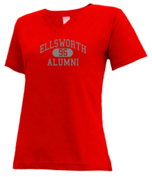 Ellsworth Middle School  V-neck Shirts