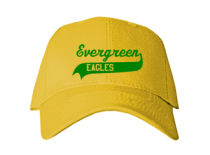 Evergreen Elementary School  Baseball Caps
