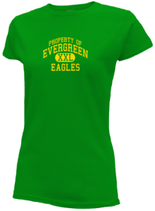 Evergreen Elementary School  Slimfit T-Shirts