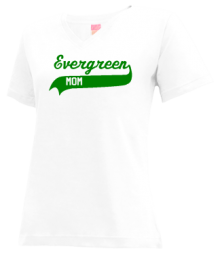 Evergreen Junior High School V-neck Shirts