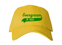 Evergreen Middle School  Baseball Caps