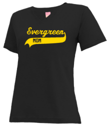 Evergreen Middle School  V-neck Shirts