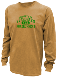 Evergreen Middle School  Pigment Dyed Shirts