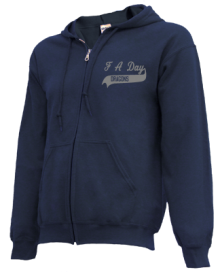 F A Day Middle School  Zip-up Hoodies