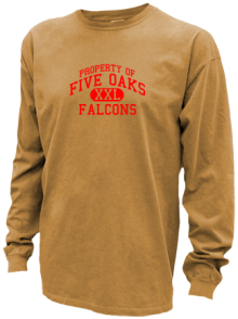 Five Oaks Middle School  Pigment Dyed Shirts