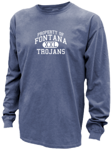 Fontana Middle School  Pigment Dyed Shirts