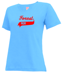 Forest Elementary School  V-neck Shirts