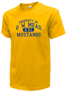 G W Mead Elementary School  T-Shirts