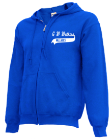 G W Watkins Elementary School  Zip-up Hoodies