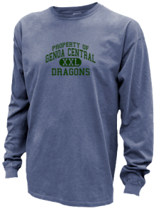 Genoa Central Elementary School  Pigment Dyed Shirts