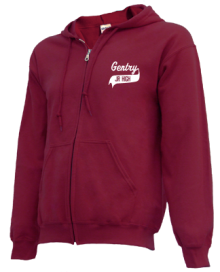 Gentry Middle School  Zip-up Hoodies