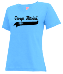 George Mitchell Elementary School  V-neck Shirts
