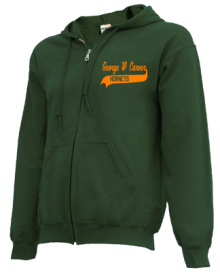 George W Carver Middle School  Zip-up Hoodies