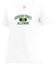 Georgian Forest Elementary School  V-neck Shirts