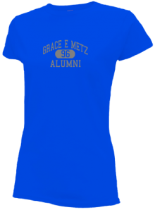 Grace E Metz Junior High School Slimfit T-Shirts