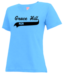 Grace Hill Elementary School  V-neck Shirts