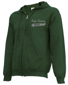 Grant Foreman Elementary School  Zip-up Hoodies