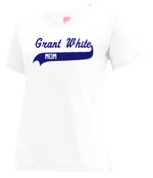 Grant White Elementary School  V-neck Shirts