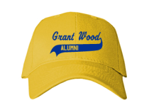 Grant Wood Elementary School  Baseball Caps