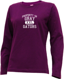 Gray Middle School  Long Sleeve Shirts