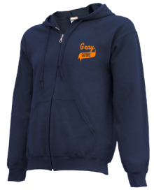 Gray Middle School  Zip-up Hoodies